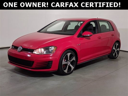 Used 2017 Volkswagen Golf Gti For Sale Raleigh Nc 3vw4t7au8hm062657